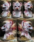 Dominotwist hyena character commission