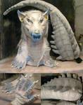 Tankard crocodile tail and gloves