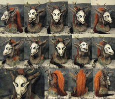 Autumn Spirit mask by Crystumes