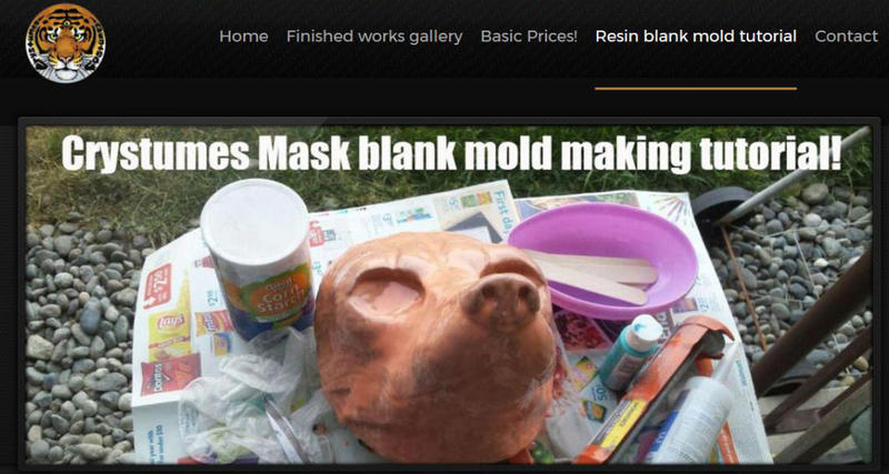 Resin blank mask mold making tutorial!