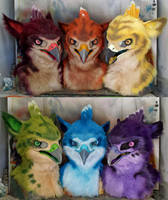 Rainbow Gryphons SOLD by Crystumes