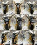 Goat mask commission