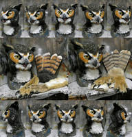 Horned Owl For Sale by Crystumes