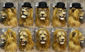Belgio Lion mask
