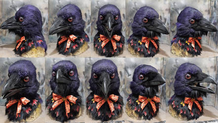 Halloween Crow kenku costume SOLD