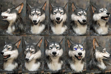 Good werewolf mask commission