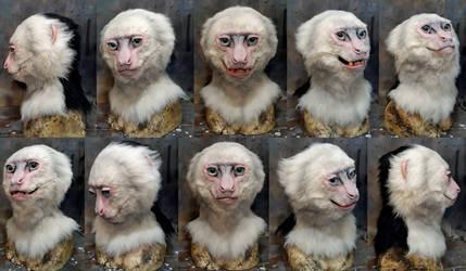 Capuchin monkey mask