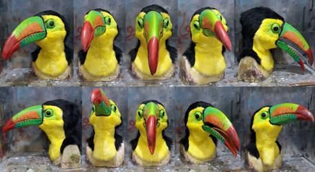 Keel Billed Toucan mask for sale on dealers den