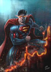 Superman by BillyMD