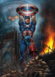Captain-America-Steve-Rodgers by BillyMD