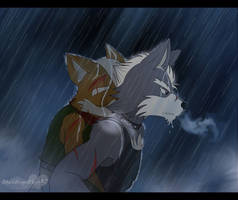 Hang in there Fox by BlackWingedHeart87