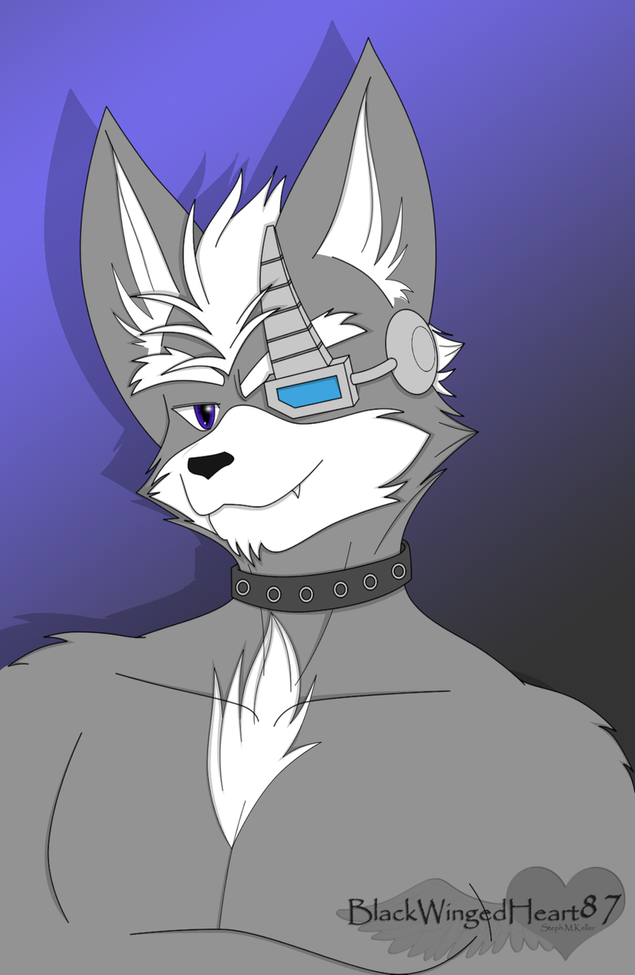 Wolf O'Donnell by BlackWingedHeart87