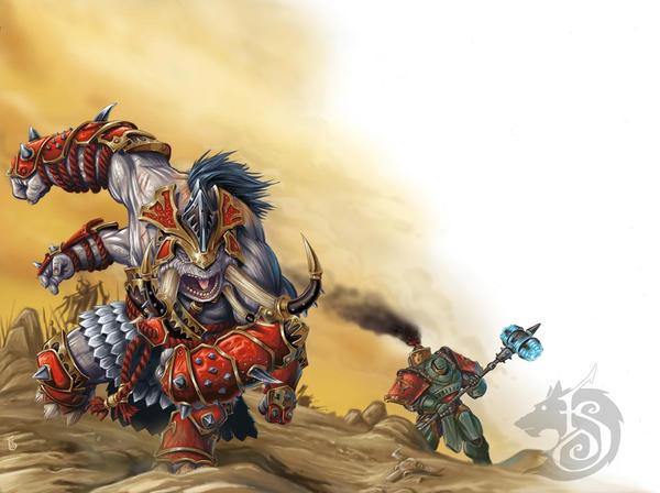 Bronzeback Titan by FStitz