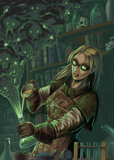 Combat Alchemist at work by FStitz