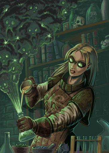 Combat Alchemist at work by FStitz