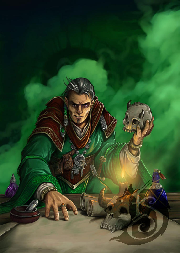 Evil Alchemist by FStitz