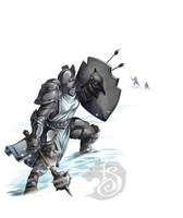 Arrows on Precursor Knight by FStitz