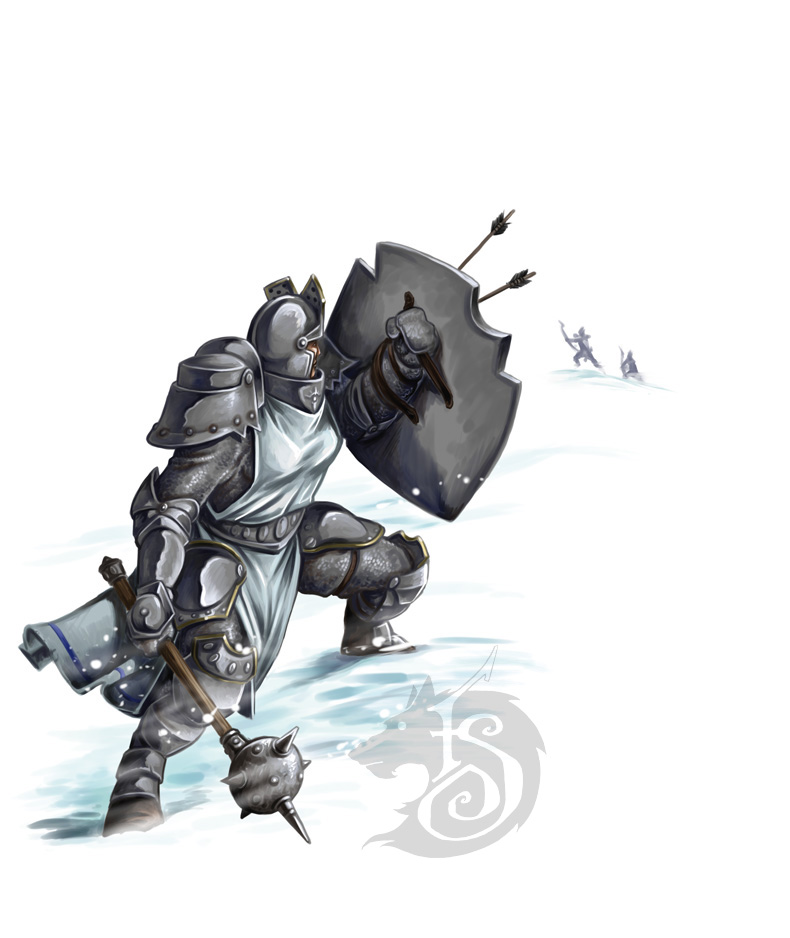 Arrows on Precursor Knight