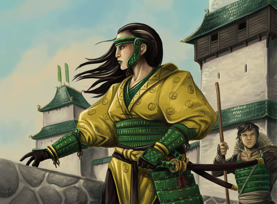 Dragon Magistrate by FStitz
