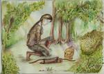 Katniss in the Woods