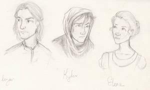 Logan, Kylar and Elene