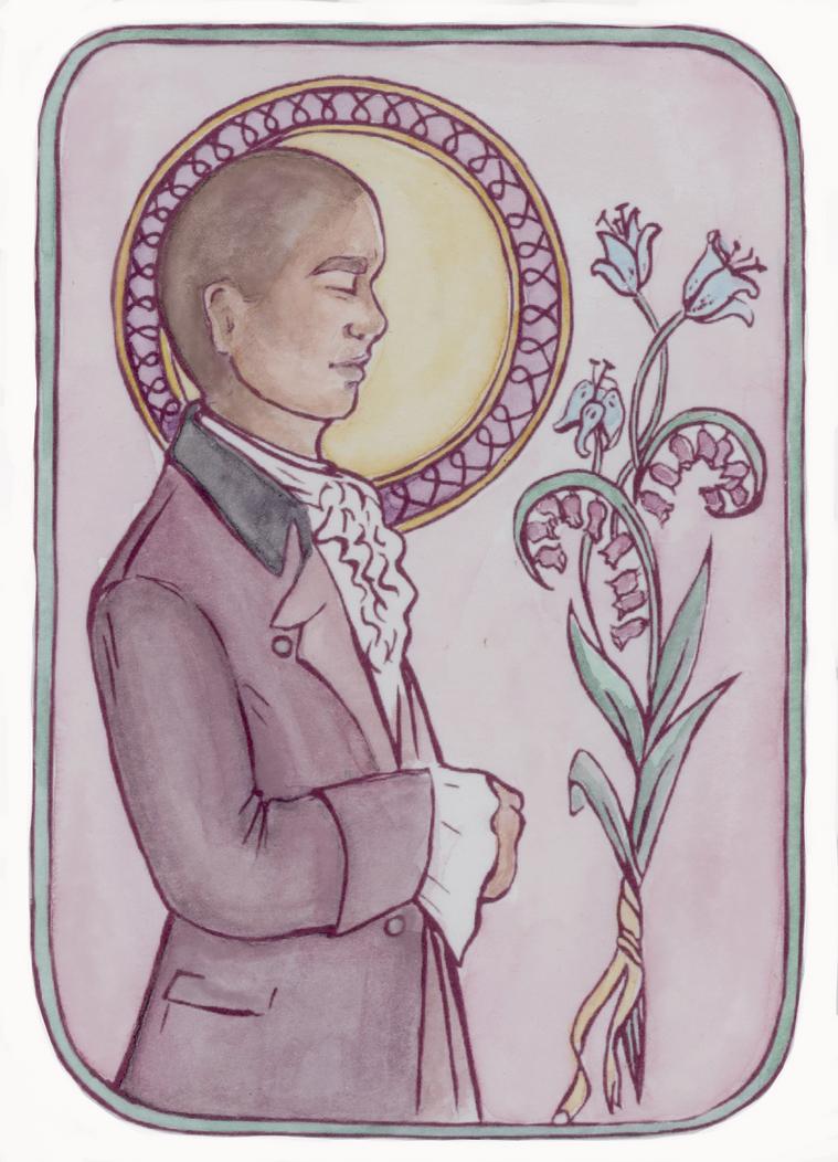 Burr Postcard by HogwartsHorror