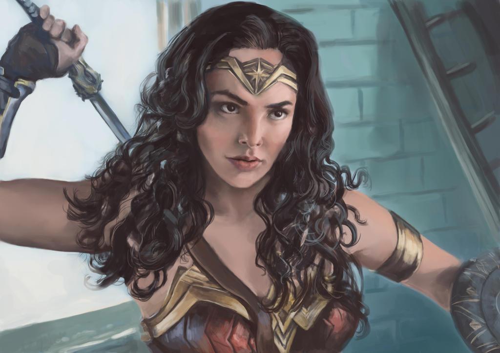 Wonder Woman by HogwartsHorror