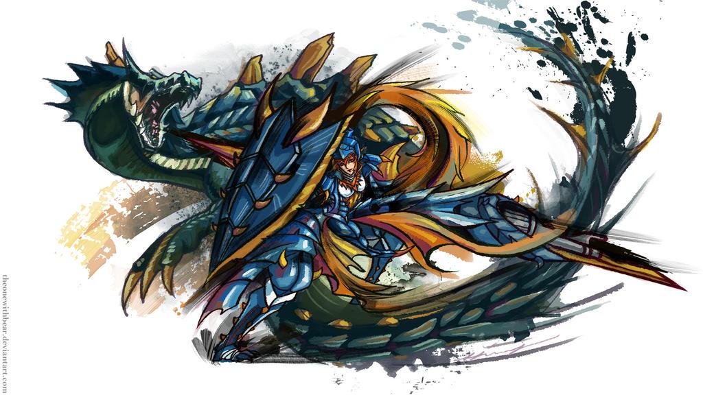 M Tigrex Tail Monster Hunter Lagiacr...