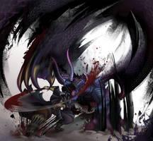 Bloodborne x MH Gore Magala