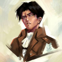 Levi (again. And possibly again) by TheOneWithBear