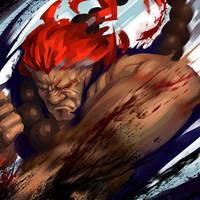 FanartFriday: Akuma by TheOneWithBear