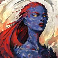 Fanart Friday - Mystique by TheOneWithBear