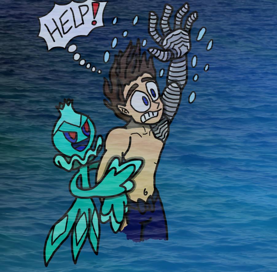Creepy PokeDex entry Frillish and Bucky