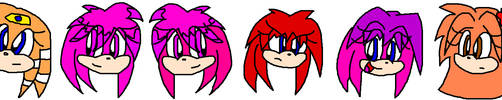 The Echidna Girls by SonicGal390