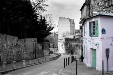Montmartre III by cherry-cocaine