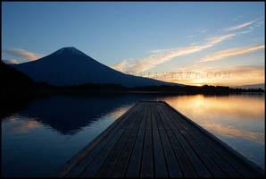 Dock at Sunrise by billsabub