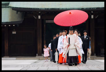Umbrella Procession by billsabub