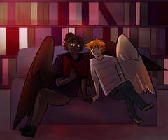 :CO: June and Tsal by Deercliff