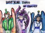 Year Three of Fragile! by Deercliff