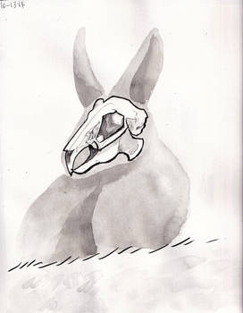 Inktober Day 13: Bunny