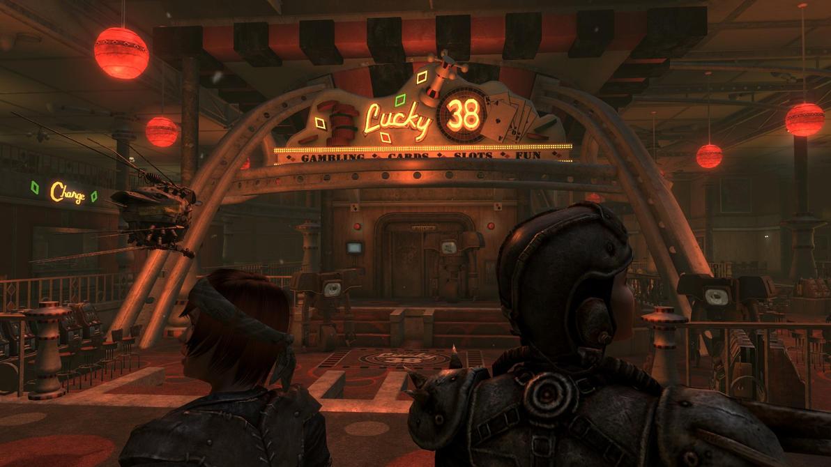 Gambling at lucky 38