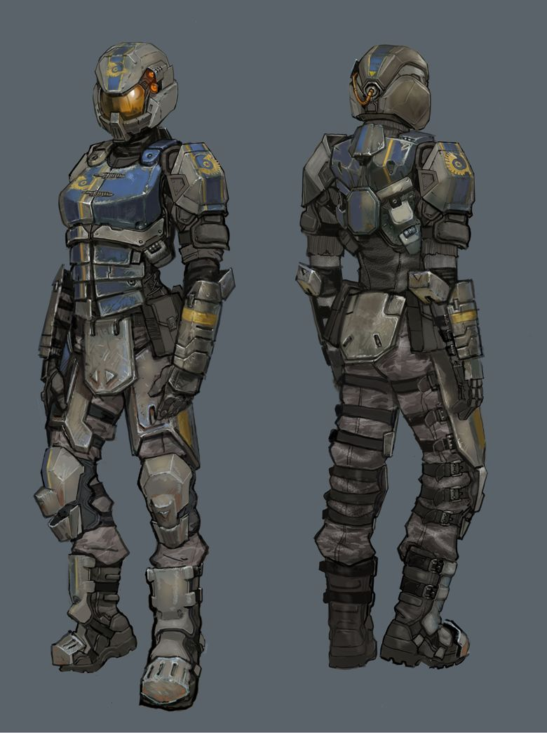 New Conglomerate female heavy assault by Hebime