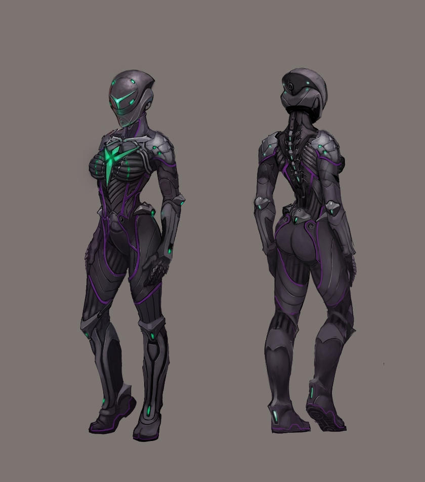 Vanu Sovereignty female infiltrator by Hebime