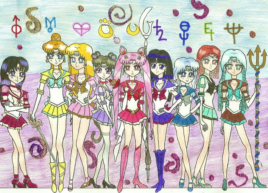 A New Senshi Team by KonekoTsukino