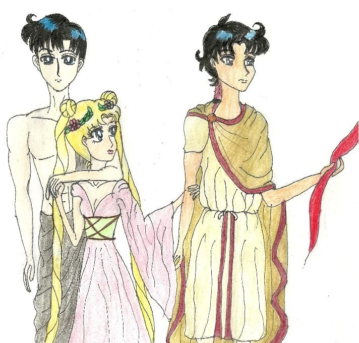 Hades and Persephone by KonekoTsukino