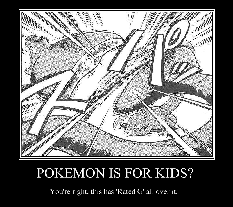 Pokemon, A Kid's Game by BlazingGoldish98