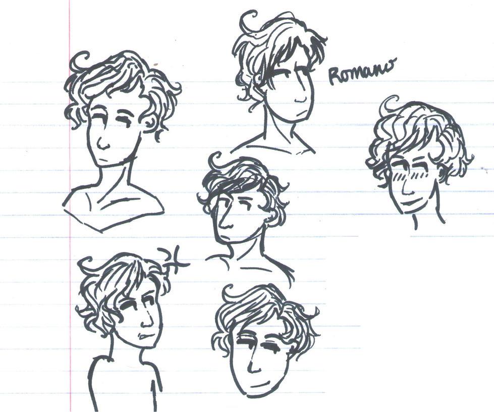 Doodle dump: aph Romano by SonicandWarriorsfan1