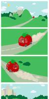 Quick, to the Tomatomobile