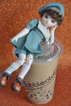 Bubbletea boy by SugarFirefly