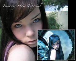 Fantasy Hair Tutorial by DarkSoulOfLuthien